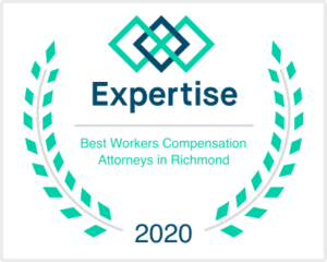 Expertise Best Workers Comp Lawyer in Richmond Logo